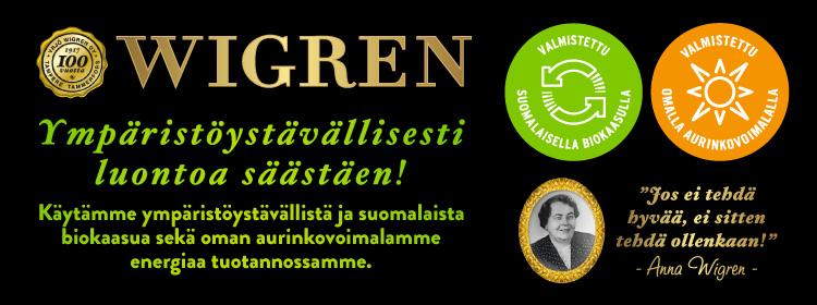 Wigren - Ympäristöystävällisesti luontoa säästäen